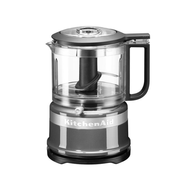 KitchenAid - Mini-Food-Processor Zerkleinerer, kontur-silber