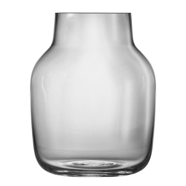 Silent Vase groß von Muuto in Grau
