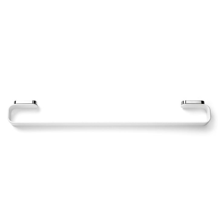 Handtuchhalter von Menu in Chrom / weiß