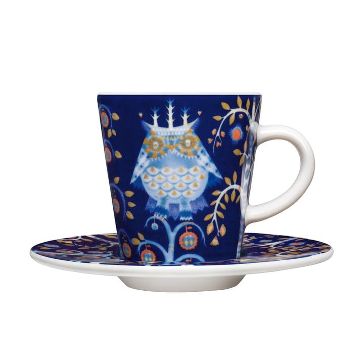 Iittala - Taika - blau - Espressotasse mit Untertasse