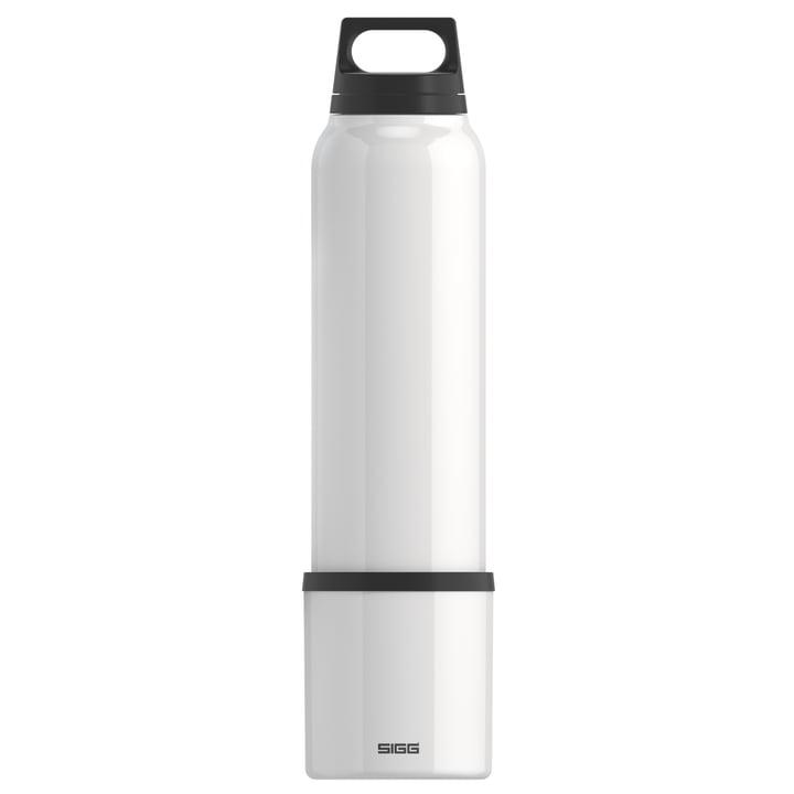 Hot & Cold Thermosflasche 1 l inkl. Becher von Sigg in weiß