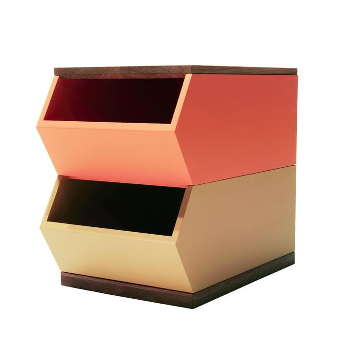 The Hansen Family - Container Set, orange / gelb