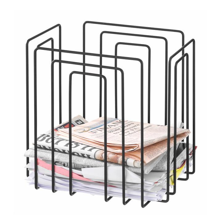 TMP - Papiersammler, compact, schwarz