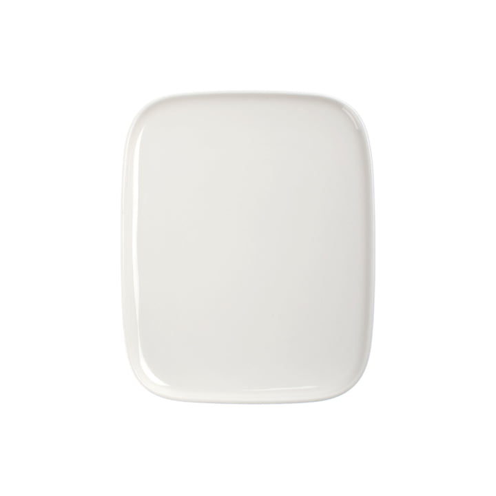 Marimekko - Teller , 15 x 12 cm, weiß