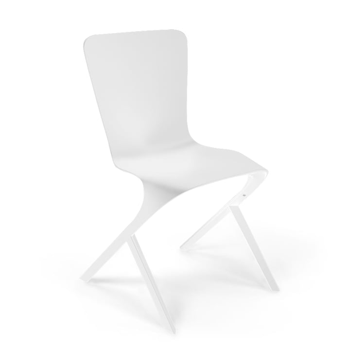 Knoll - Washington Skin Chair, weiß