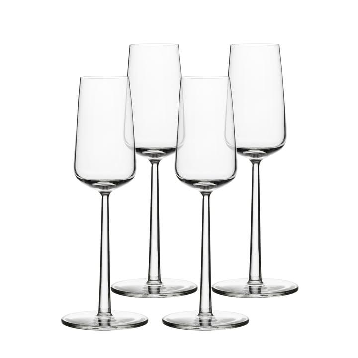 Essence Champagner-Glas 21 cl (4er Set) von Iittala