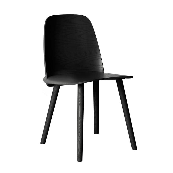 Nerd Chair von Muuto in Schwarz
