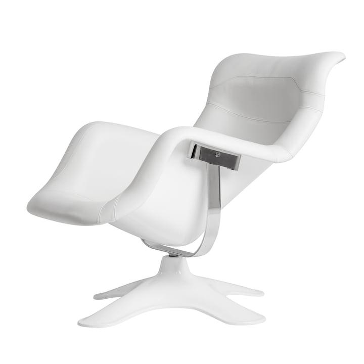 Artek - Karuselli Lounge Chair, weiß / weiß