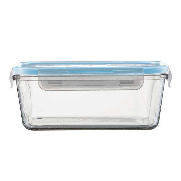 Cucina Glas-Auflaufform mit Deckel 1600 ml rechteckig von Jenaer Glas