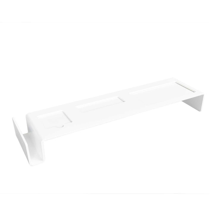 Müller Möbelwerkstätten - Deskbridge Schreibtischablage small, weiß