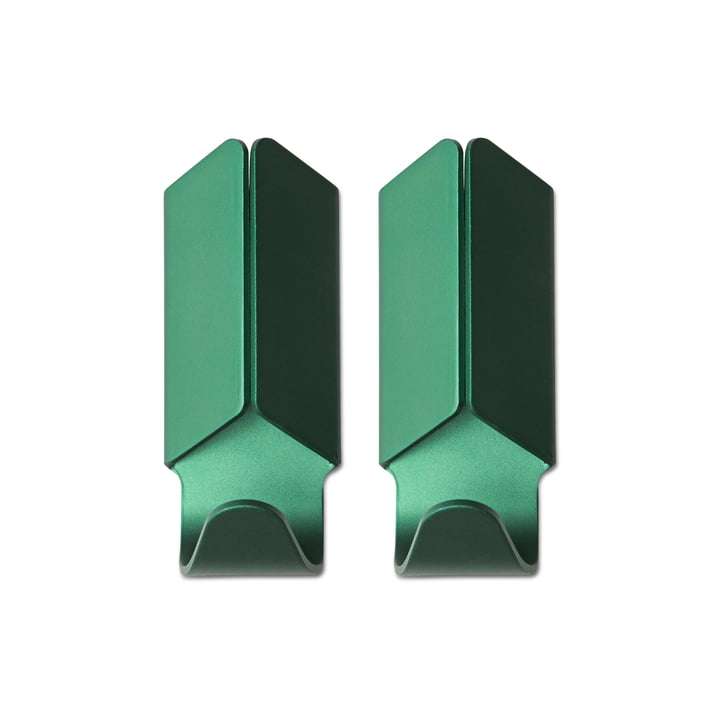 Hay - Volet Hook 2er-Set, grün
