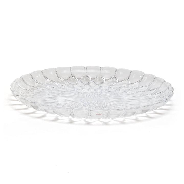Kartell - Jelly Servierplatte, transparent