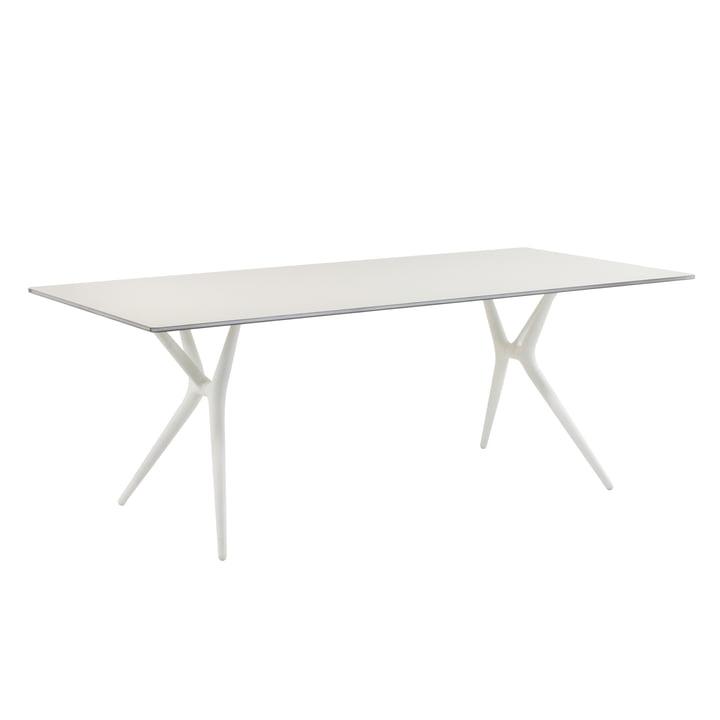 Kartell - Spoon Tisch, weiß