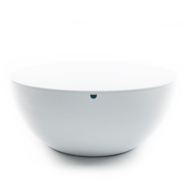 XLBoom - Slice Table mit Deckel, weiß / weiß