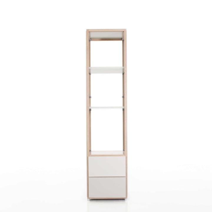 Flötotto - ADD Regalturm, 2 Schubladen - Beispiel