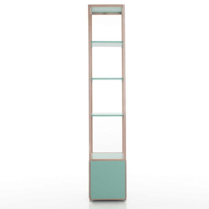 Flötotto - ADD Regalturm, hoch, grün - Beispiel