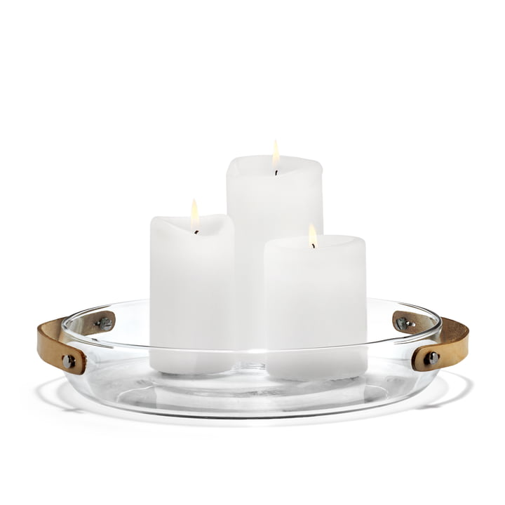 Holmegaard - Design with light Kerzenteller, 24 cm