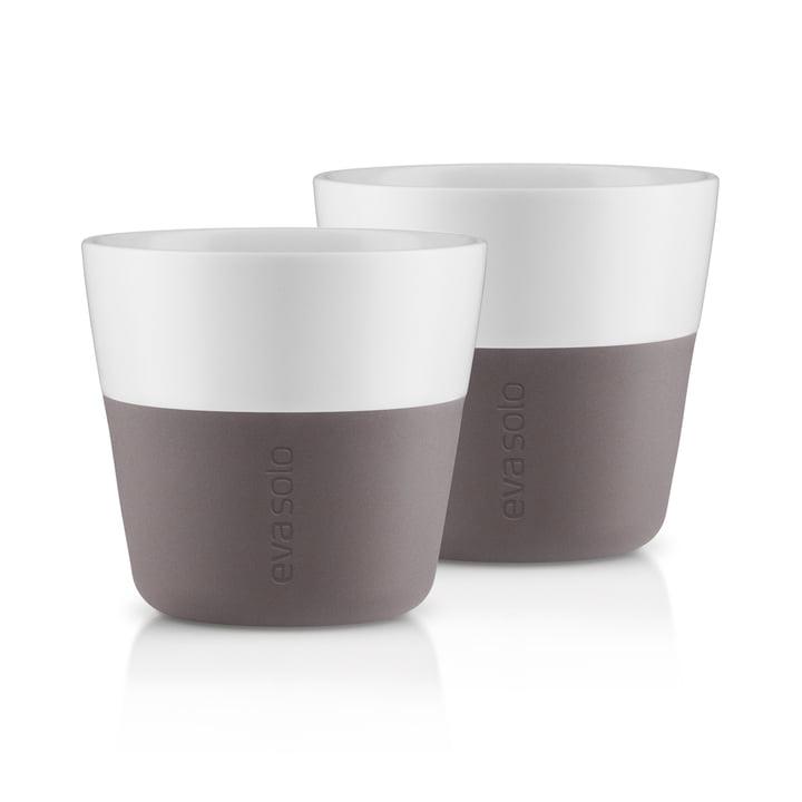 Caffé Lungo-Becher (2er-Set) von Eva Solo in Grau