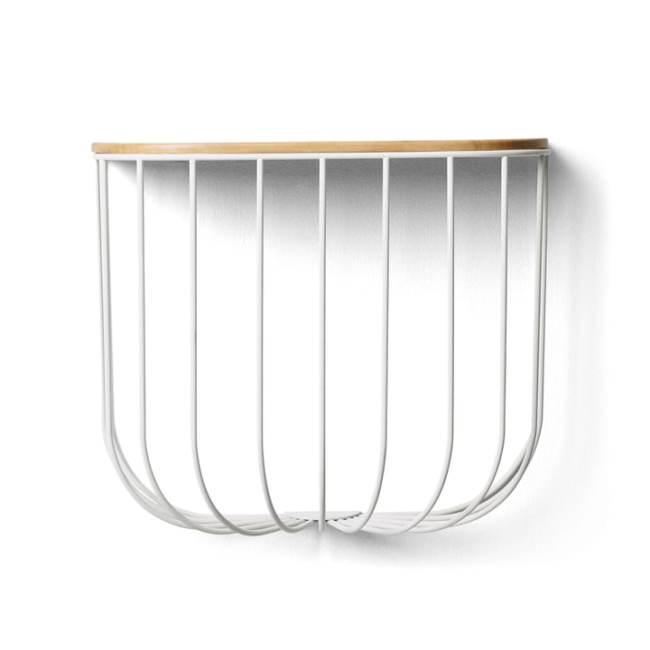 FUWL Cage Shelf von Menu in weiß