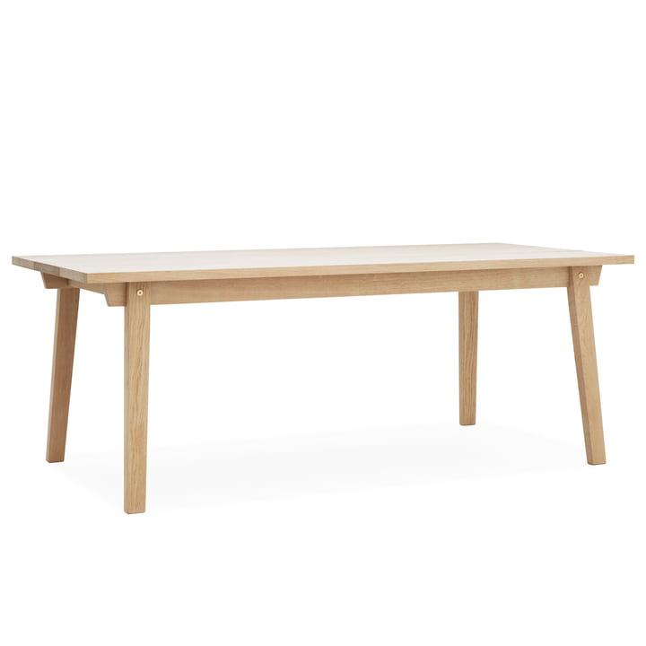 Slice Table Wood 90 x 200 cm von Normann Copenhagen aus Eiche