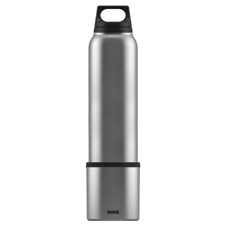 Hot & Cold Thermosflasche 1 l inkl. Becher von Sigg in Brushed
