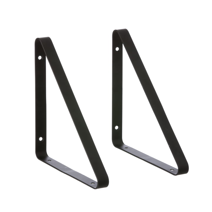 ferm Living - Shelf Hangers Regalsystem, schwarz