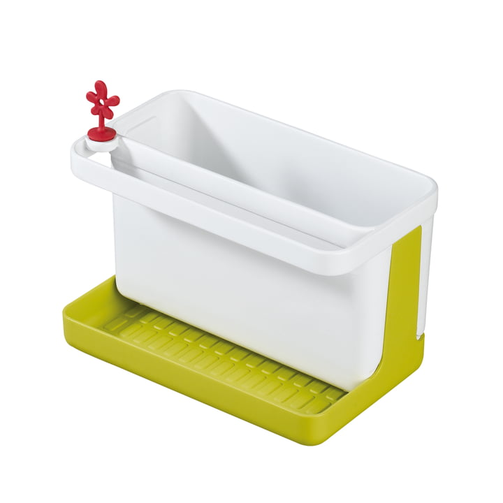 Koziol - Park It Spül-Organizer, senfgrün mit weiß