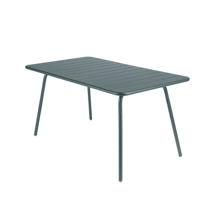 Luxembourg Tisch 80 x 143 cm von Fermob in Gewittergrau