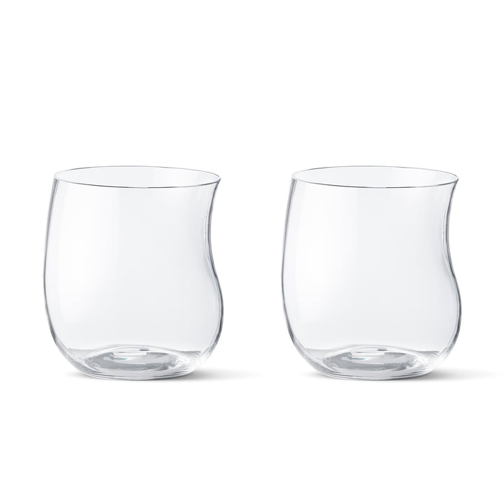 Georg Jensen - Cobra Trinkglas 0,2 l (2er-Set), transparent