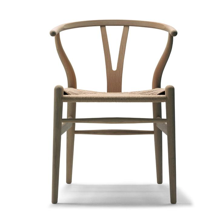 CH24 Wishbone Chair von Carl Hansen in Eiche geölt / Naturgeflecht