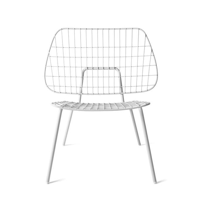 WM String Lounge Chair von Menu in Weiß