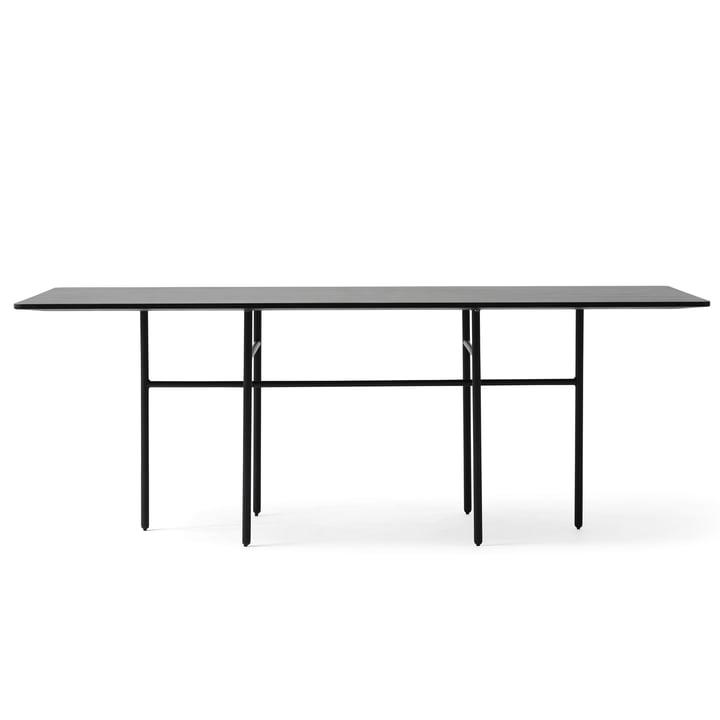 Menu - Snaregade Table, rechteckig, schwarz funiert