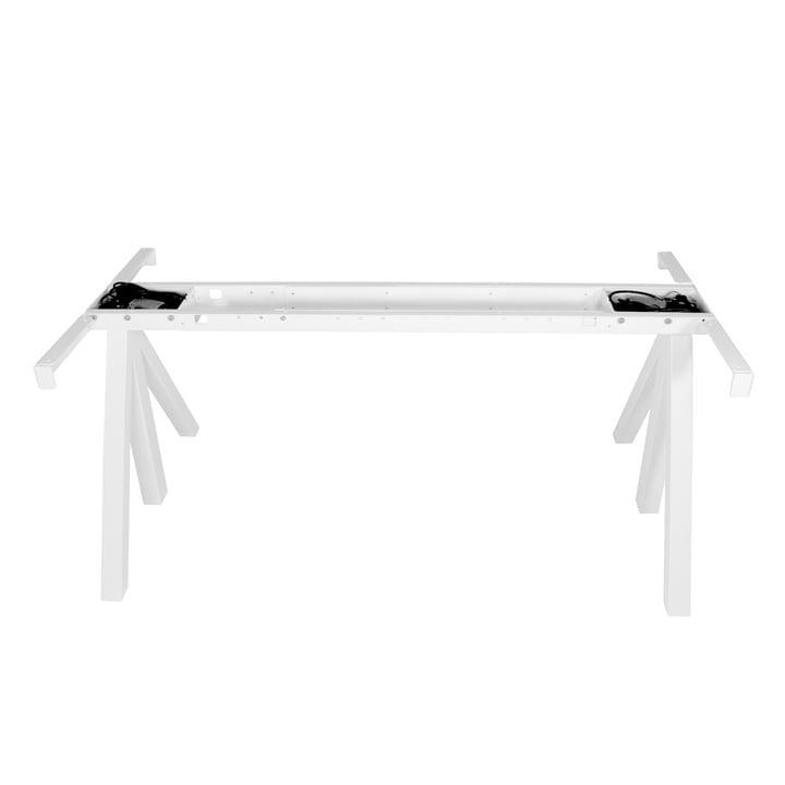 Works Höhenverstellbarer Tischrahmen von String in Weiß