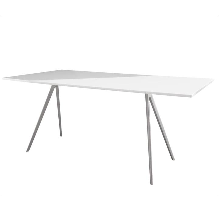 Magis - Baguette Esstisch 205 cm, weiß / weiß