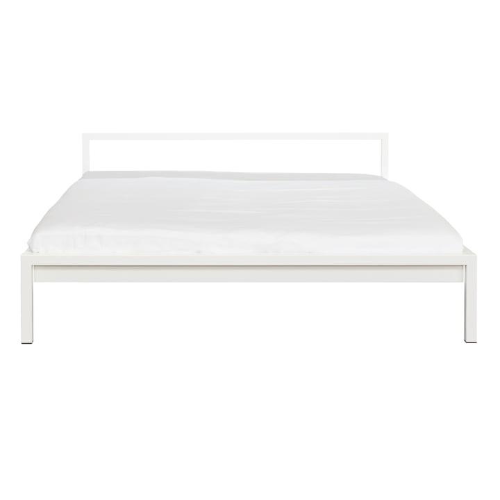 Weißes Pure Bett von Hans Hansen