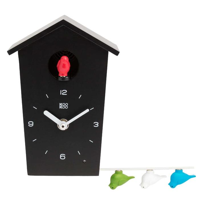 KooKoo - Bird House Mini, schwarz