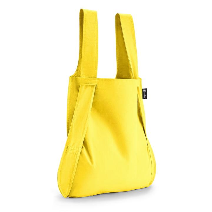 Notabag - Tasche und Rucksack, gelb