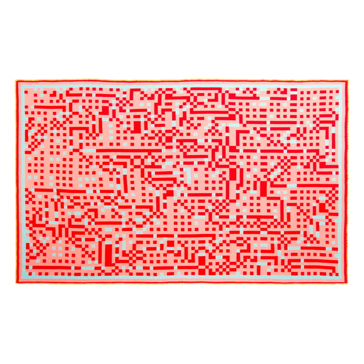 Zuzunaga - Tokyo 1 Wolldecke 146 x 212 cm