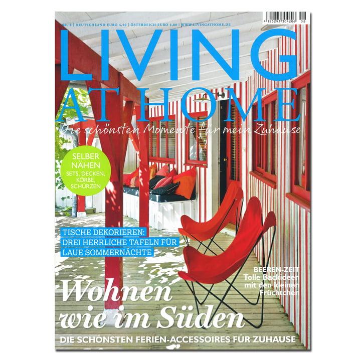 living at home zeitschrift. Black Bedroom Furniture Sets. Home Design Ideas
