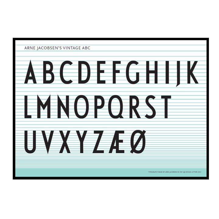 Design Letters - ABC Poster 50 x 70 cm