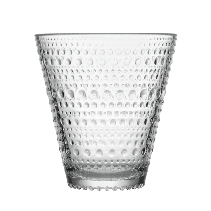 Kastehelmi Trinkglas 30 cl von Iittala aus klarem Glas