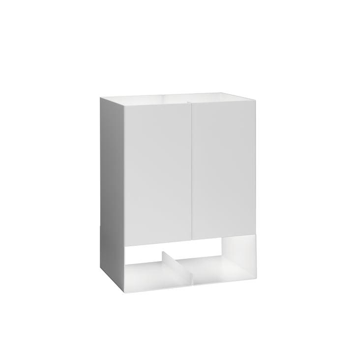 e15 - LT02 Seam Two Tischleuchte klein in Signalweiß