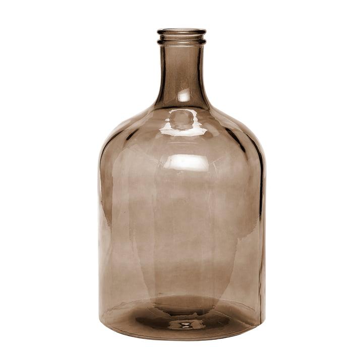 Retro Glasvase XL von Novoform in braun