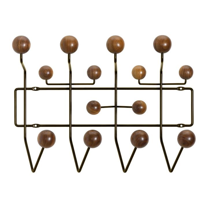 Hang it all Garderobe von Vitra in Nussbaum / chocolate