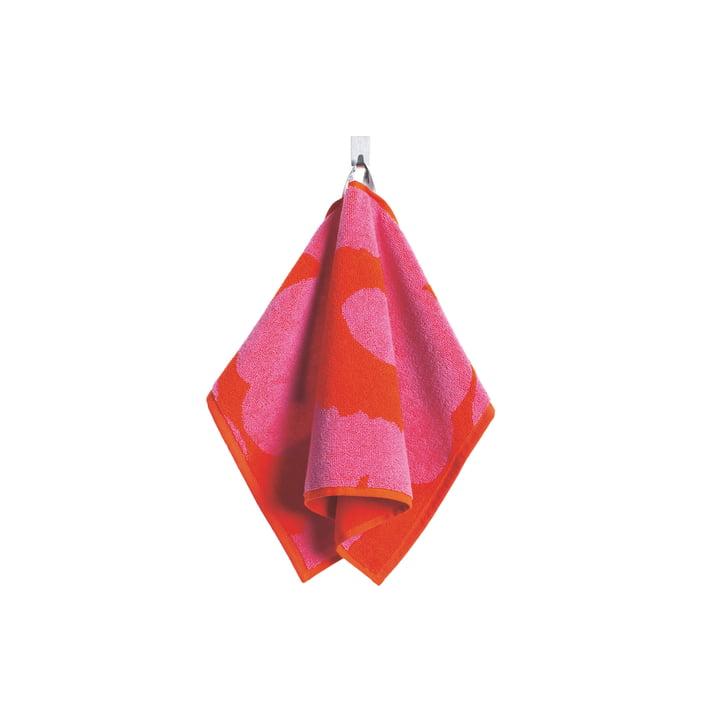 Unikko Gästehandtuch 30 x 50 cm von Marimekko in Rot