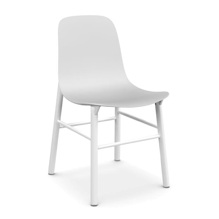 Sharky Stuhl von Kristalia in Weiß