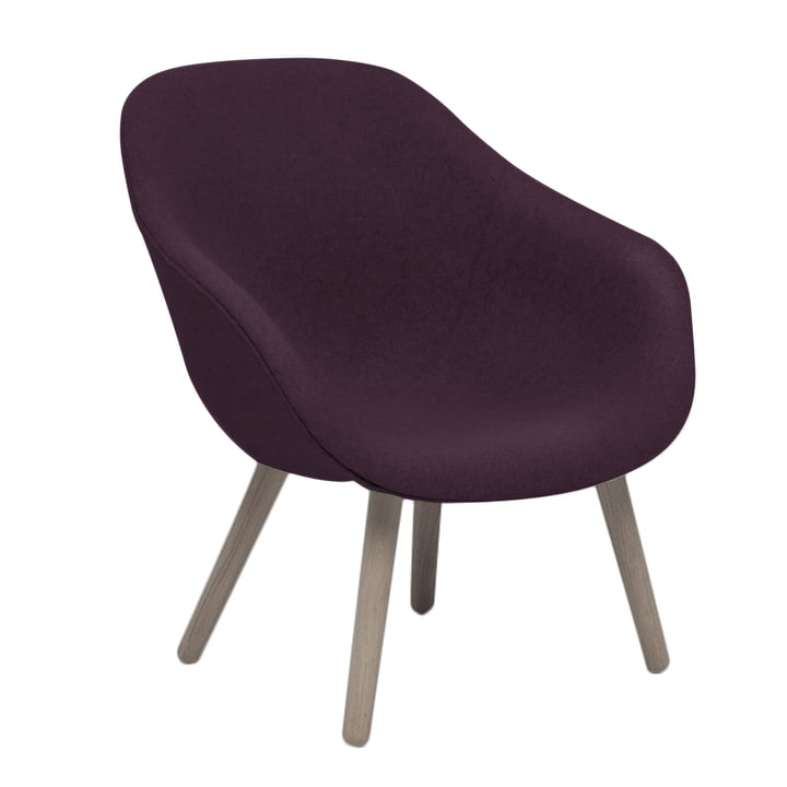 Der About A Lounge Chair, Low / AAL 82 in Steelcut 2 (685)
