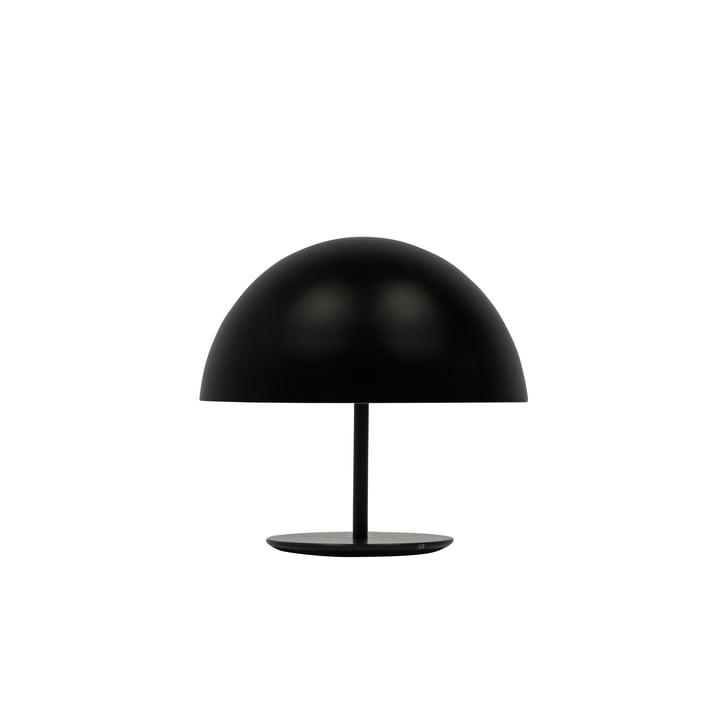 Dome Tischleuchte von Mater Ø 25 cm in Schwarz