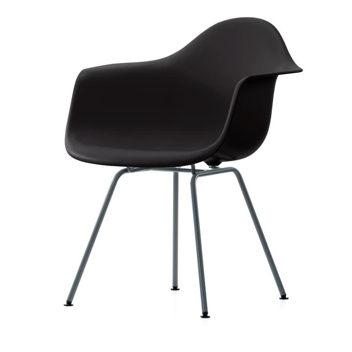 Eames Plastic Armchair DAX (H 43 cm) von Vitra in basic dark