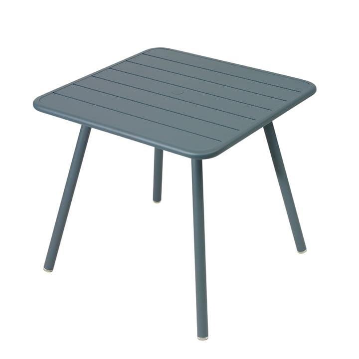 Luxembourg Tisch 80 x 80 cm von Fermob in Gewittergrau